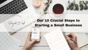 our 10 crucial steps to starting a small business
