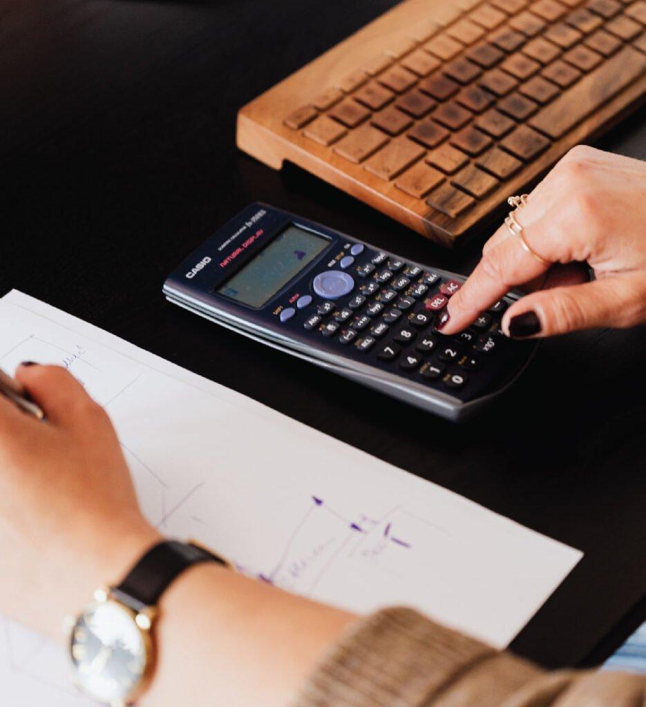 hands on calculator