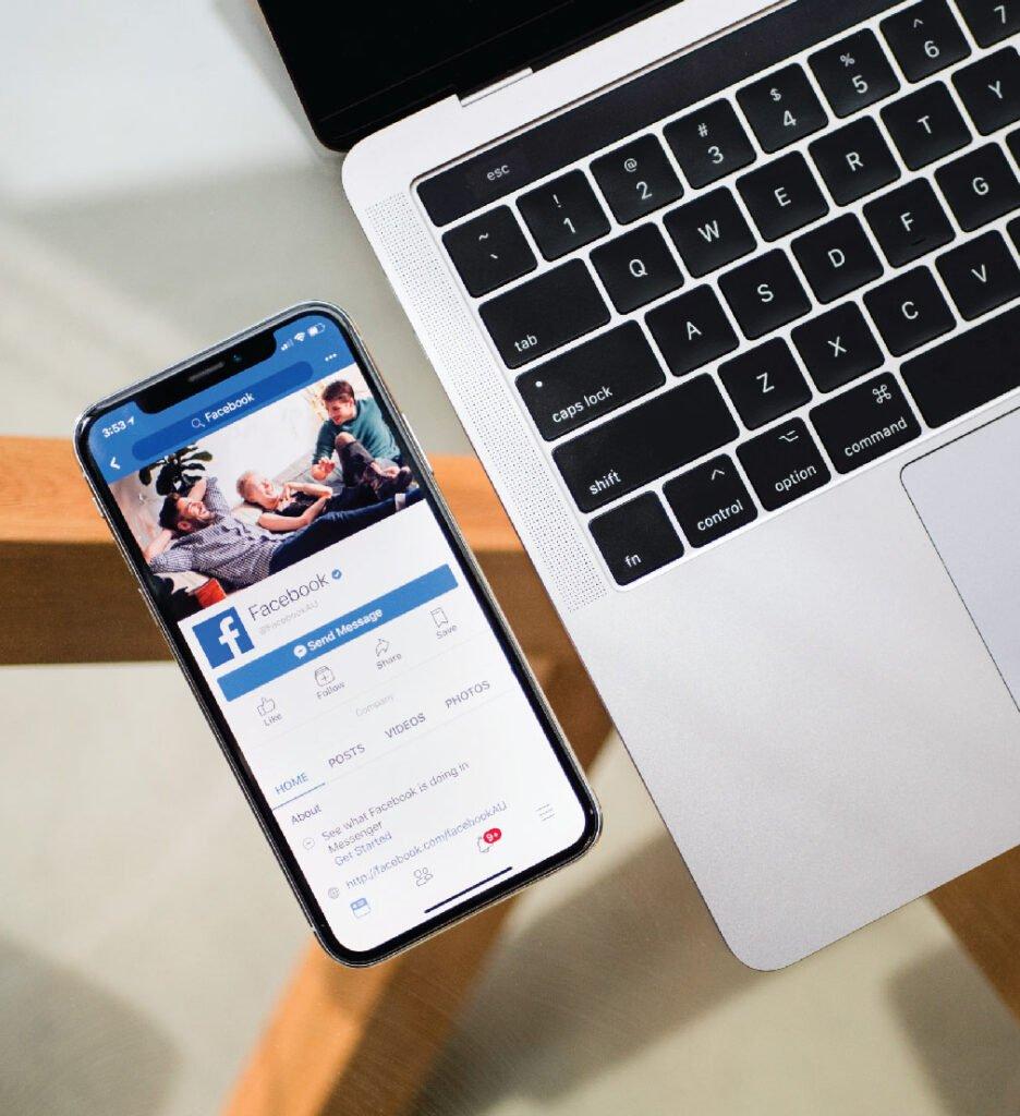 phone in facebook app