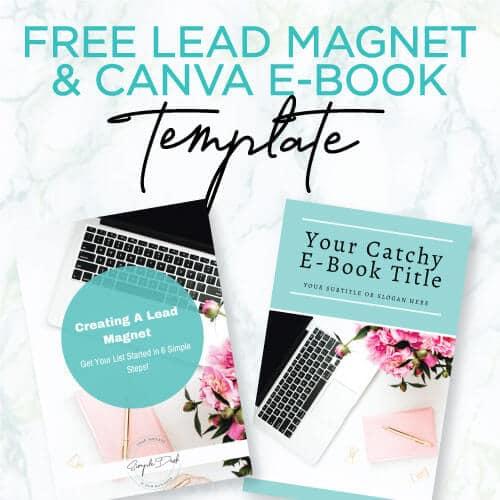 Free Lead Magnet & Canva E-book Template