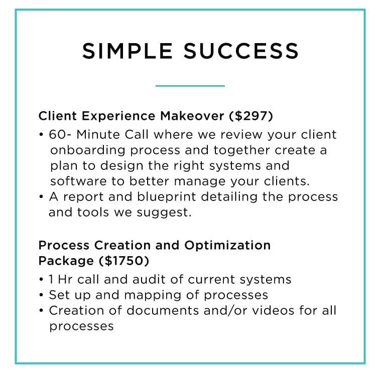 simple success package