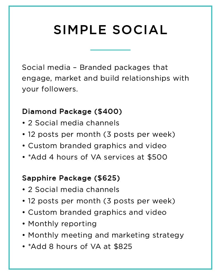 Our Services - Simple Social